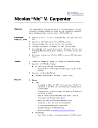 Resume Templates Mobile by Carpenter Resume Example Carpenter Cover Letter Sample Carpentry