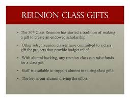 gifts for class reunions 2010 reunion volunteer