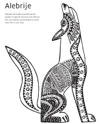 winsome design coyote animal coloring pages coyote coloring page