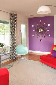 Purple Home Decor Fabric Photos Hgtv Modern Home Office With Cool Gray Accent Wall Loversiq