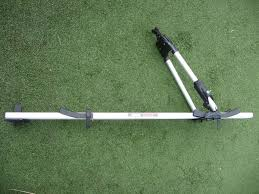 nissan almera roof bars thule tour roof bar mounted lockable cycle carrier 515 0192 with
