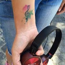 25 beautiful watercolor tattoo music ideas on pinterest music