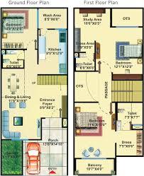 Home Design For 20x50 Plot Size 1510 Sq Ft 3 Bhk 3t Villa For Sale In The Nm London Villas Super