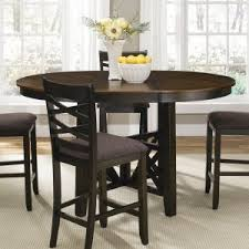 counter height table with butterfly leaf extension leaf pub tables hayneedle