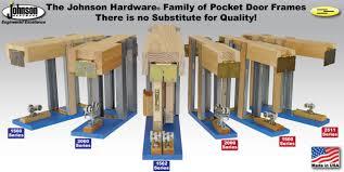 Crown Industrial Barn Door Hardware by Pocket Door Hardware Johnsonhardware Com Sliding Folding