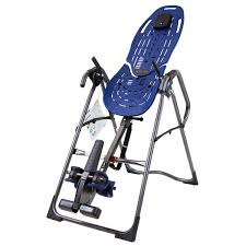 tilt table for back pain teeter ep 960 inversion table with back pain relief dvd blue