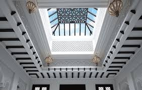 molded skylight interior design ideas