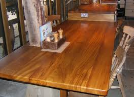 All Wood Kitchen Table by Small Rustic Kitchen Design And Decoration Using Rustic Solid Wood
