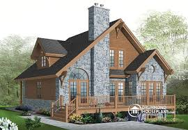 small 3 bedroom lake cabin with open and screened porch w2957 modern rustic chalet 3 bedrooms large terrace mezzanine