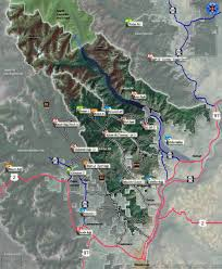 Chelan Washington Map by Chelan And Entiat Ranger District Mountain Bike And Hiking Trails
