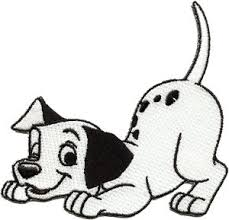 amazon disney 101 dalmatians dog spot embroidered iron