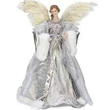 angel christmas tree topper 16 5 celebration silver and gold angel christmas tree topper 16 5