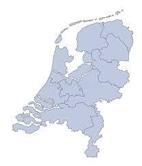 map netherlands map netherlands stock vector illustration of provinces 6686317