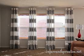 Ikea Striped Curtains I Wanna Play Too Diy Painted Striped Curtains