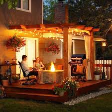 Backyard String Lighting Ideas Patio Lighting Ideas Home Design Ideas Adidascc Sonic Us