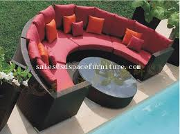 Wicker Furniture Sale Home Design Ideas And Pictures - Round outdoor sofa 2