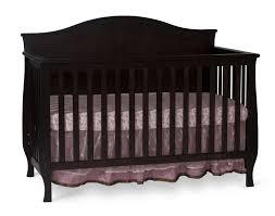 Espresso Convertible Cribs by Espresso Crib Solid Back Creative Ideas Of Baby Cribs