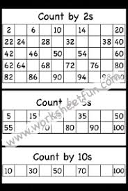 Skip Count By 2s Hundreds Chart Skip Counting By 2s 5s And 10s One Worksheet Free Printable