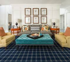 Extra Large Area Rug by Extra Large Ottoman Living Room Traditional With Plaid Artificial