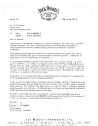 Free Legal Letters by Jack Daniel U0027s Cease And Desist Letter Goes Viral For Being