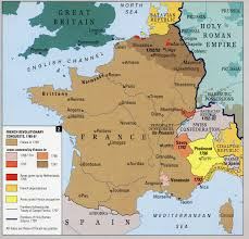 Map Of Northern France by Historical Maps Of France