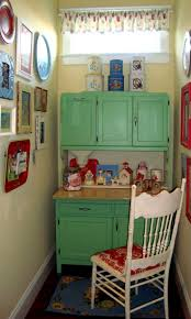 Antique Green Kitchen Cabinets 170 Best I Love A Green Kitchen Images On Pinterest Vintage