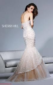 Wedding Designers Sherri Hill Wedding Dresses With Mermaid Fish Tail Design