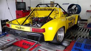 porsche jdm porsche 914 with jdm subaru sti spec c engine on e 85 dyno pull