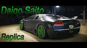 lamborghini gallardo replica need for speed 2015 lamborghini murcielago drift build daigo