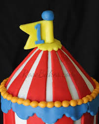 circus cake toppers behance