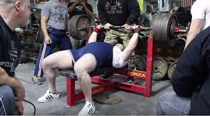 Powerlift Bench Peter Edgette Youngest Person To Bench Press 600 Lbs Muscle
