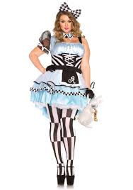 size psychedelic alice in wonderland halloween costume