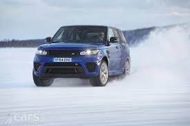 land rover snow range rover sport svr blistering 0 62 mph on any surface video