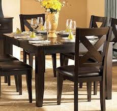 dining room 7 piece modern formal dining room set spellbound