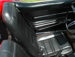 1968 corvette seats the corvette 1968 corvette