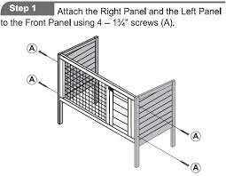 Rabbit Hutch Instructions Critter Cages Blog Evergreen Rabbit Hutch By Ware Mfg Assembly