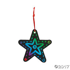 color scratch ornaments