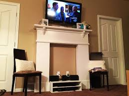diy fireplace mantel surround home fireplaces firepits how to