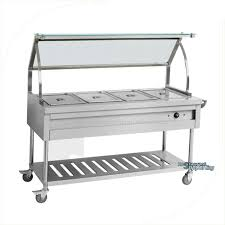 stainless steel table top cover kitchen equipment buffet stainless steel table top electric