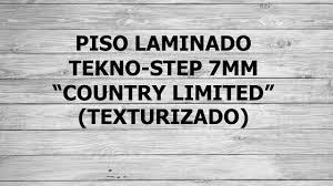 Tekno Step Laminate Flooring Piso Laminado Tekno Step Country Limited 7mm Oferta 165 00 En
