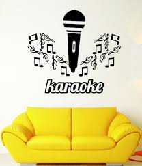 compare prices on music stickers sheets online shopping buy low wall decal sheet music karaoke singing microphone vinyl stickers china