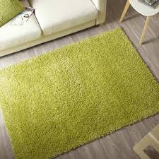 Grand Tapis Conforama by Tapis Vert Anis Shaggy Pop L 120 X L 170 Cm Leroy Merlin
