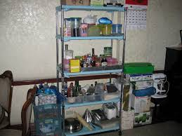 pantry organization ideas by applying wooden rack home decor