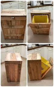 garbage can grow box weed 3l trash box kitchen trash can storage