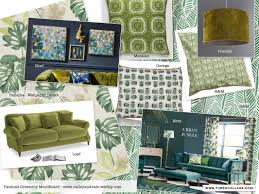 2017 spring trends pantone greenery and tropical themes green
