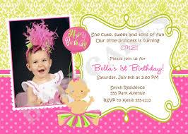 Birthday Invitation Card Free Birthday Invites Wonderful 1st Birthday Invitations Design Ideas