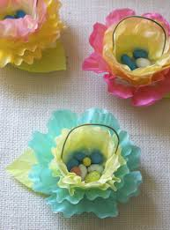 easter crafts for kids coffee filters coffee filter flowers and