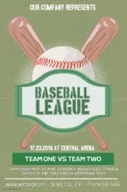 customizable design templates for baseball postermywall