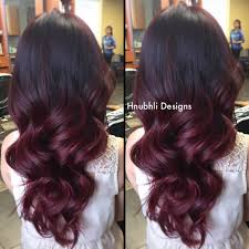 dark red to red violet ombre i did earlier today do you know