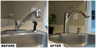 fix moen kitchen faucet replacing a kitchen faucet makeovers replace buy sink chrome brushed